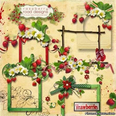 "Рамки к скрап-набору ""Wild Strawberries"" - Вырезы для ...: http://risunok.ucoz.com/load/vyrezy_dlja_fotoshopa/ramki_k_skrap_naboru_quot_wild_strawberries_quot/52-1-0-977"